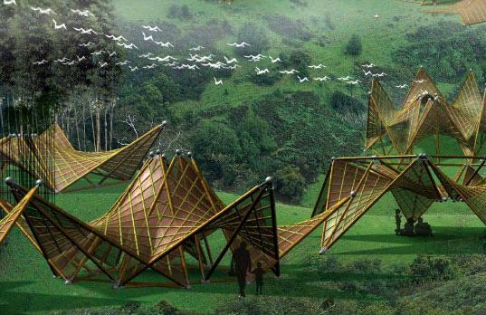 Folding-Bamboo-houses1